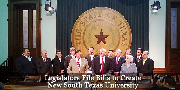 Legislators File Bills to Create New South Texas University