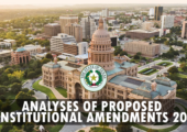 Analyses of Proposed Constitutional Amendments fall 2017